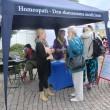 Livet går vidare i Almedalen och besök hos narkolepsiföreningen