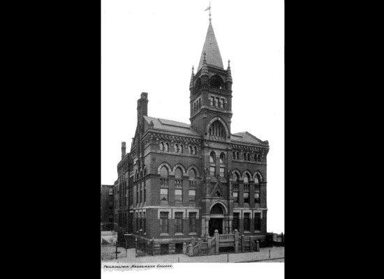 hahnemann medical college philadelphia 1848