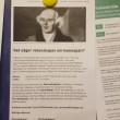 """Dan Larhammar """"informerar"""" om homeopati i Partimatsalen, Riksdagen"""
